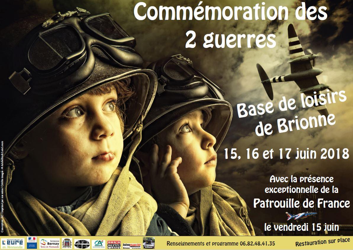 commémoration des 2 guerres